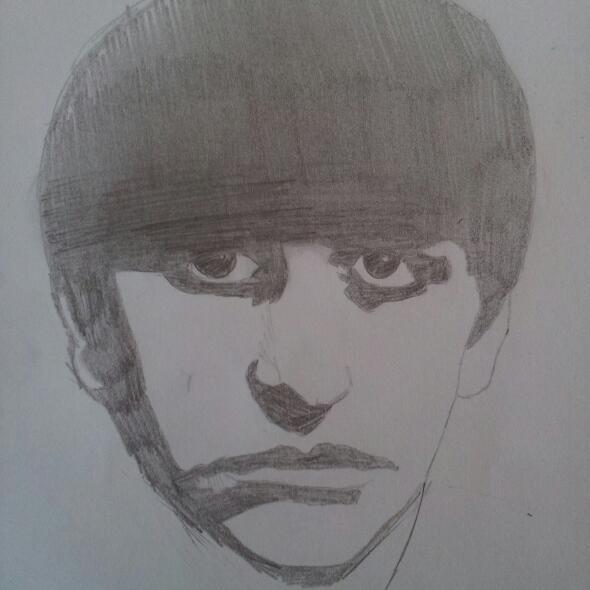 Ringo Starr par Uribaba